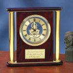 Large Clock with Exposed Gears Executive Gift Awards