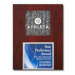 Silver Opaline Plaque Sales Awards