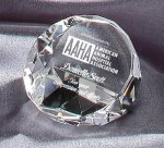 Crystal Paper Weight Secretary Gift Awards